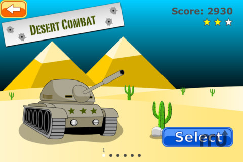 Screenshot 1 for TanksCombat