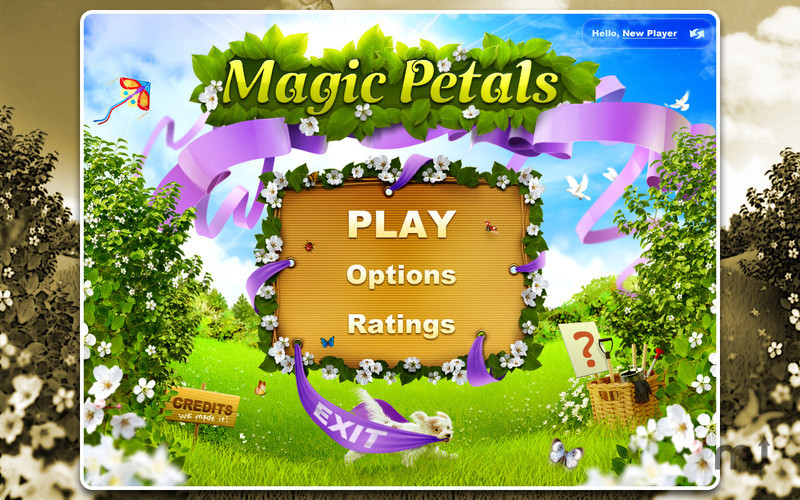 Screenshot 1 for Magic Petals