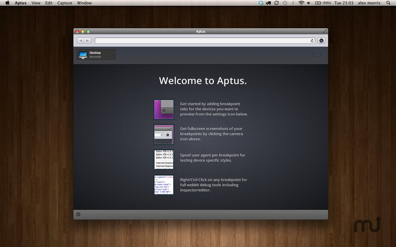 Screenshot 1 for Aptus