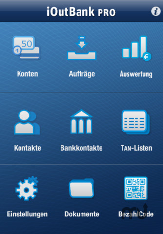 Screenshot 1 for iOutBank Pro - Mobile Banking