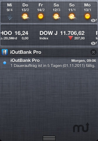 Screenshot 3 for iOutBank Pro - Mobile Banking