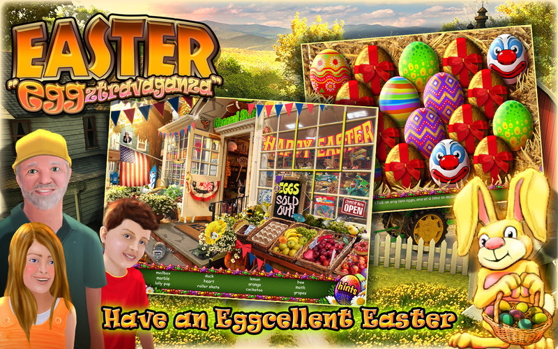 Screenshot 1 for Easter Eggztravaganza