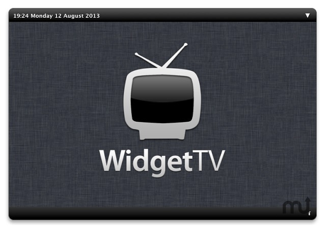 Screenshot 1 for WidgetTV