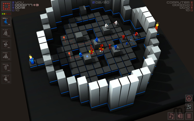 Screenshot 3 for Cubemen