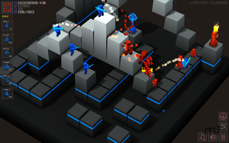 Screenshot 4 for Cubemen