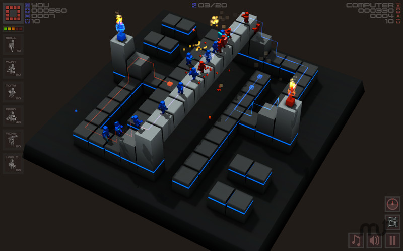Screenshot 5 for Cubemen