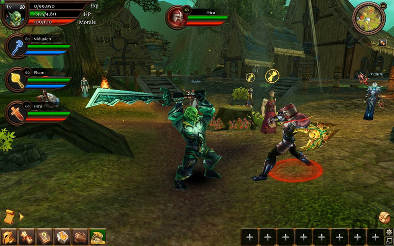 Screenshot 1 for Order & Chaos Online