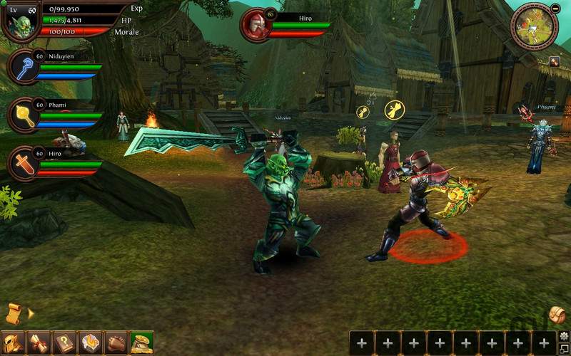 Screenshot 4 for Order & Chaos Online