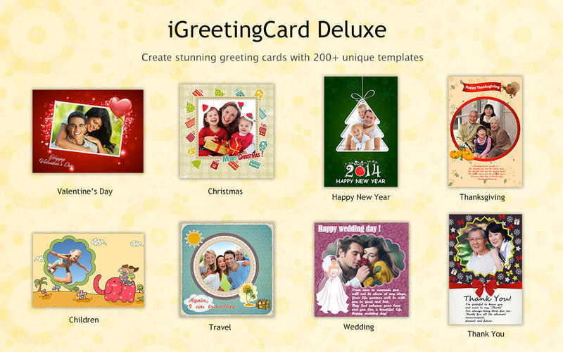 Screenshot 1 for iGreetingCard Deluxe 2015