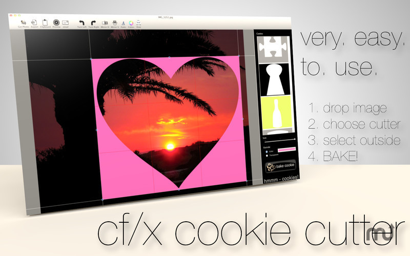 Screenshot 1 for cf/x cookie cutter