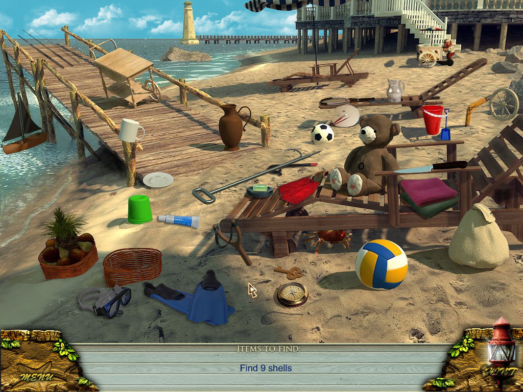 Screenshot 1 for Love Story: The Beach Cottage