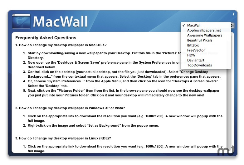 Screenshot 1 for MacWall