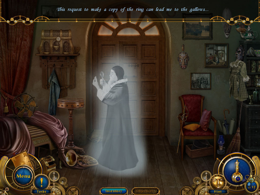 Screenshot 1 for Amulet Of Time: Shadow Of La Rochelle