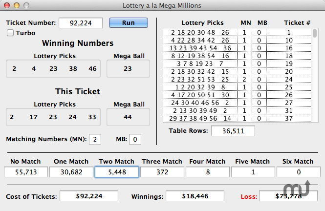 Screenshot 1 for Lottery