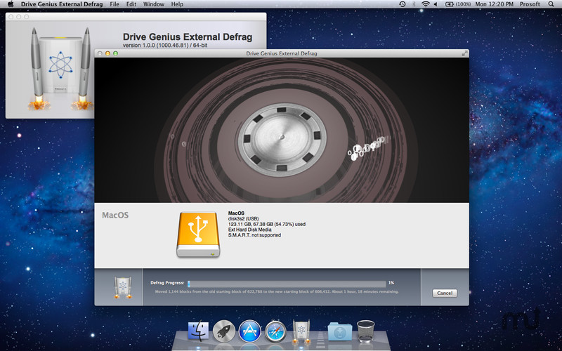 Screenshot 3 for Drive Genius External Defrag