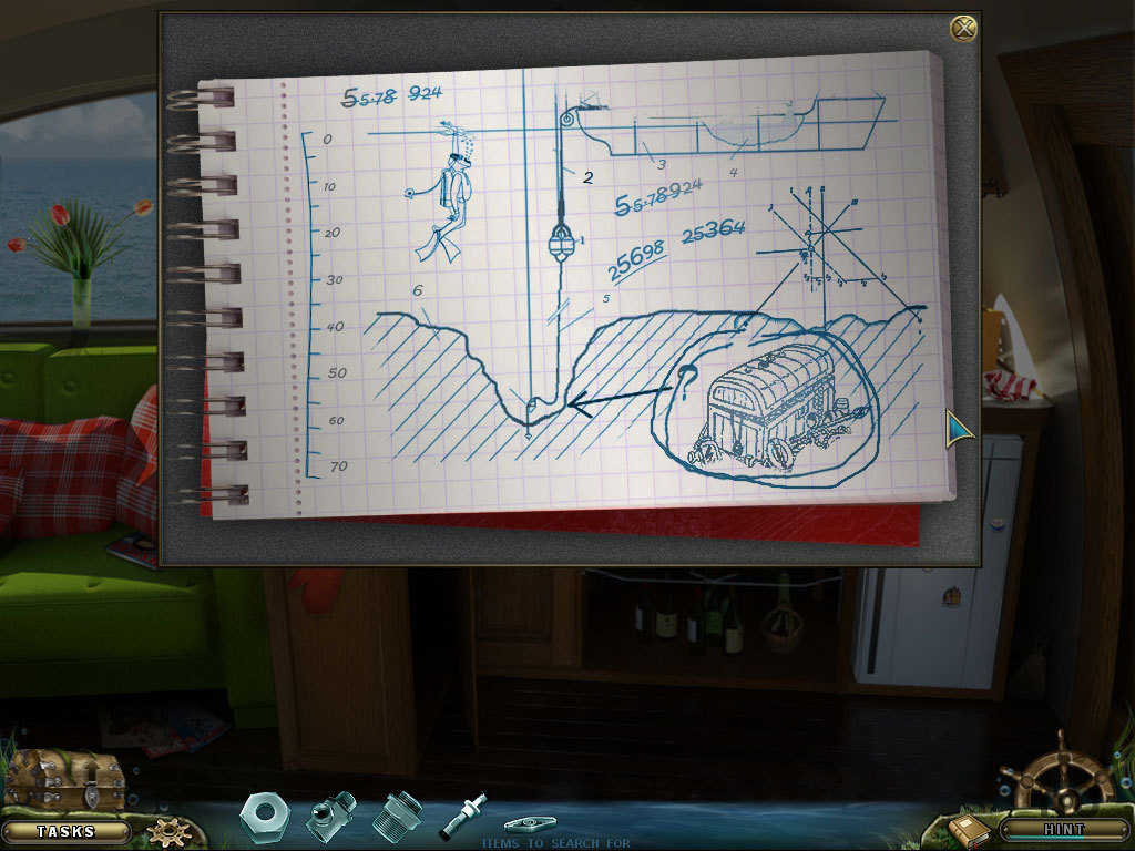 Screenshot 1 for Mystery Of The Missing Brigantine