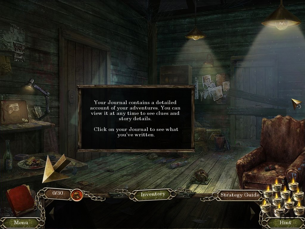 Screenshot 1 for Cursed Memories: The Secret Of Agony Creek