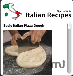 Screenshot 1 for Italian Recipes Widgeet