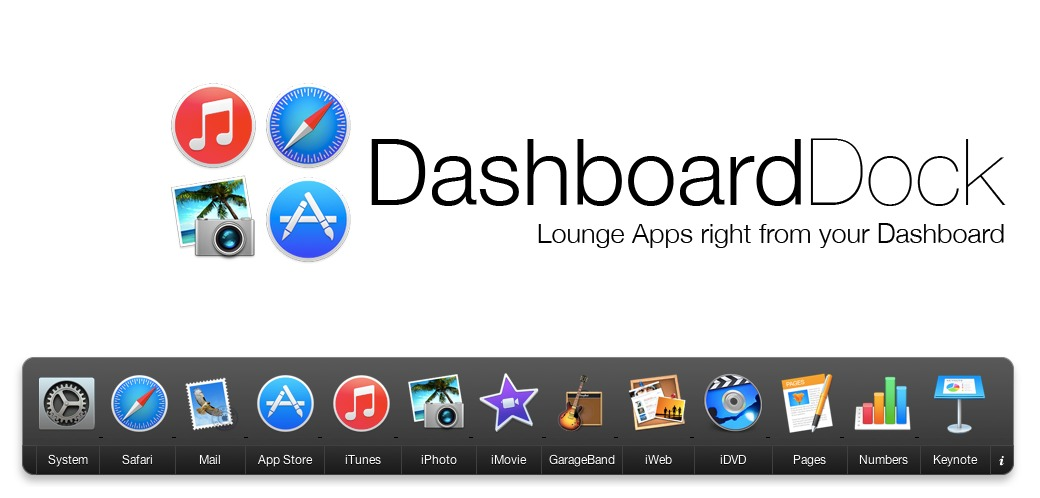 Screenshot 1 for DashboardDock