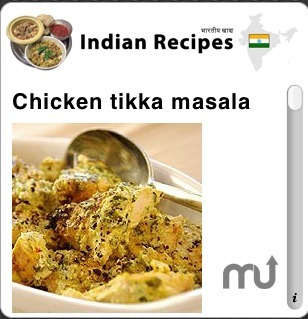 Screenshot 1 for Indian Recipes