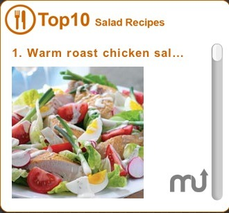 Screenshot 1 for Top 10 Salad Recipes