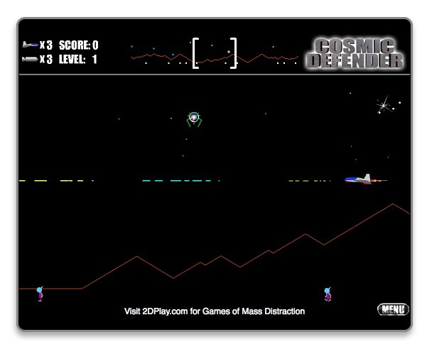 Screenshot 1 for Cosmic Defender