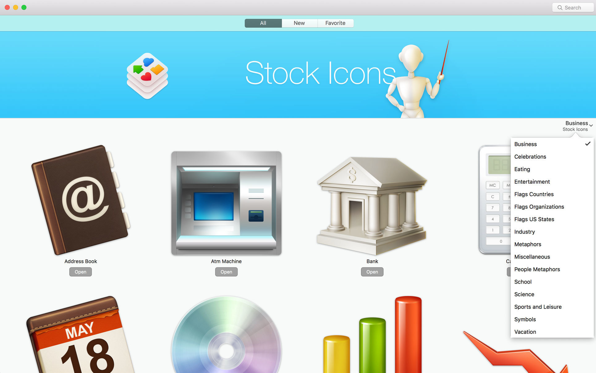 Screenshot 1 for Stock Icons
