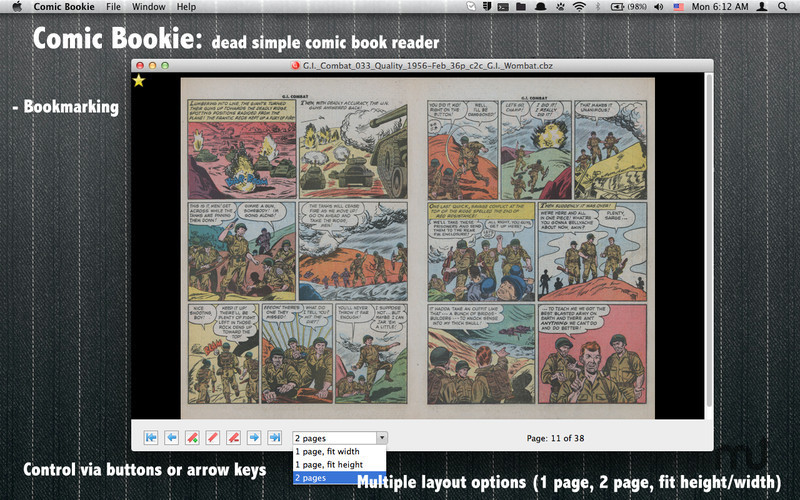 Screenshot 1 for Comic Bookie