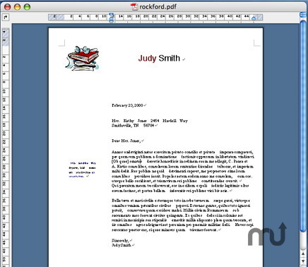 Screenshot 1 for PDF2Office Professional