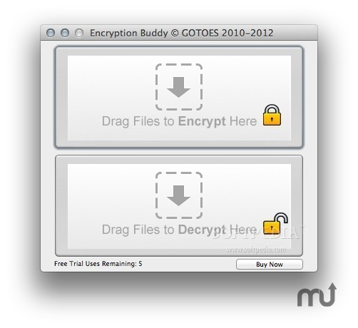 Screenshot 1 for Encryption Buddy