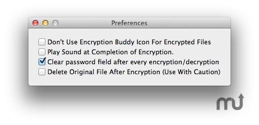 Screenshot 3 for Encryption Buddy
