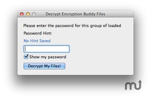Screenshot 4 for Encryption Buddy