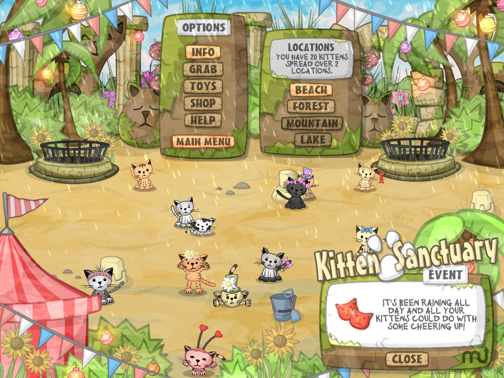 Screenshot 1 for Kitten Sanctuary