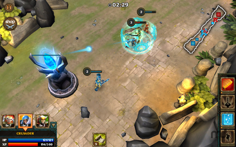 Screenshot 4 for Legendary Heroes