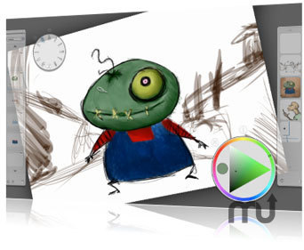 Screenshot 1 for Corel Painter Sketch Pad