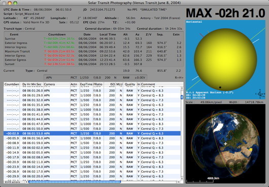 Screenshot 1 for Mercury Venus Transit Maestro