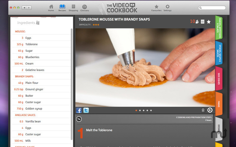 Screenshot 2 for The Video Cookbook