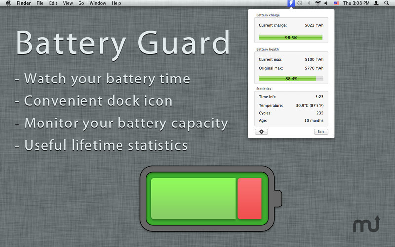 Screenshot 1 for Battery Guard