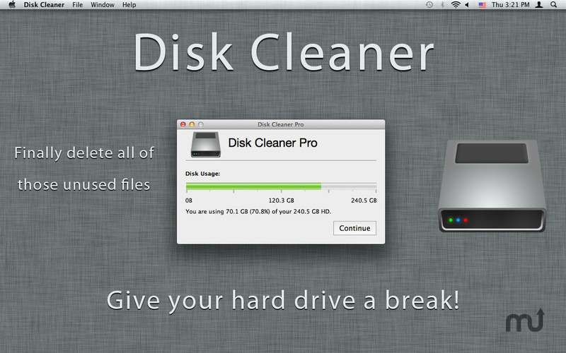 Screenshot 1 for Disk Cleaner Pro