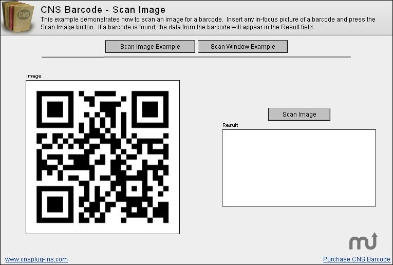 Screenshot 1 for CNS Barcode