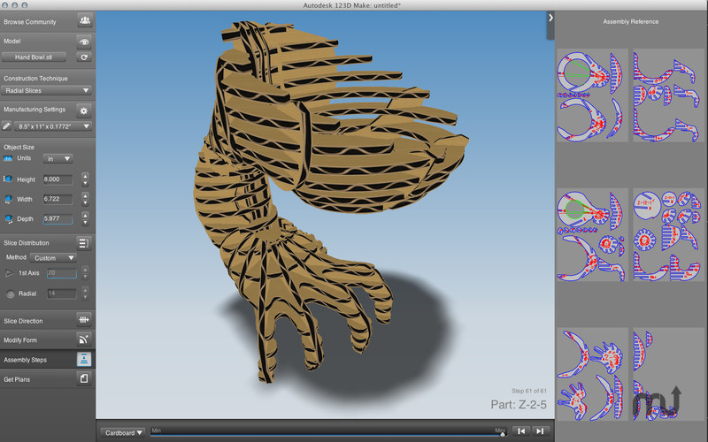 autodesk 123d make