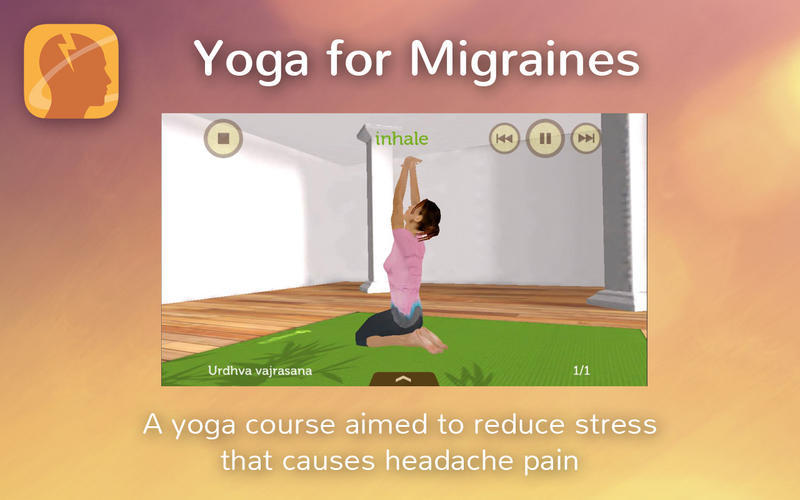 Screenshot 1 for Yoga for Migraines