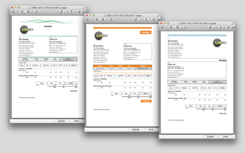 Screenshot 5 for iDea Invoice Classic