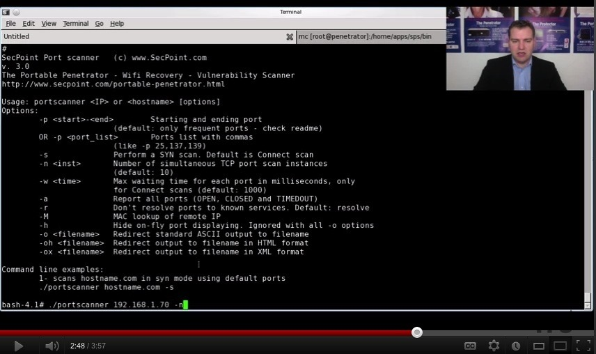 Screenshot 1 for Multi Threaded TCP Port Scanner