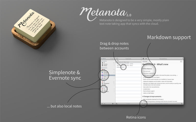 Screenshot 1 for Metanota Pro