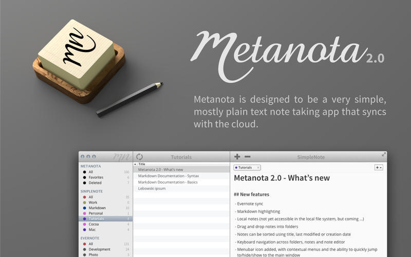 Screenshot 2 for Metanota Pro