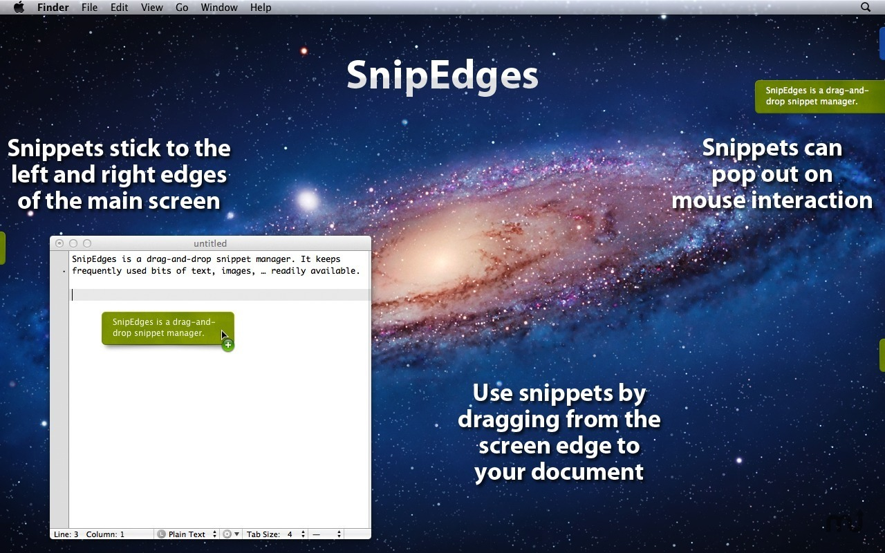 Screenshot 1 for SnipEdges