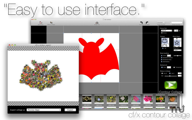 Screenshot 1 for cf/x contour collage