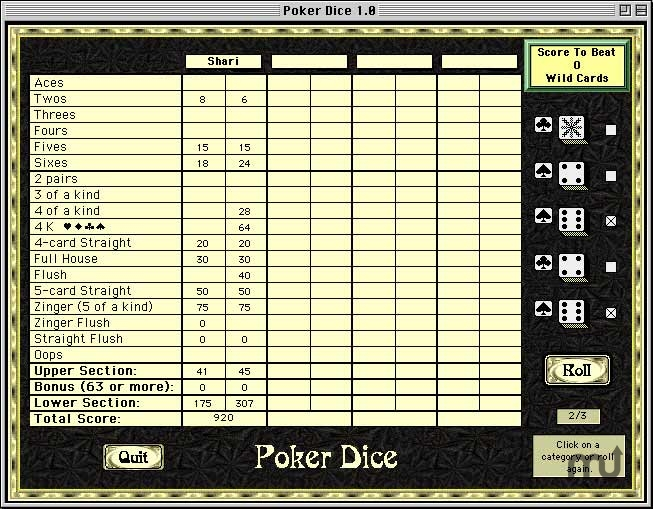 Screenshot 1 for 5k Poker Dice
