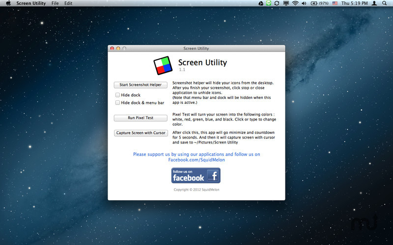 Screenshot 1 for Screen Utility